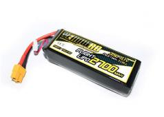 Yellow RC DJI Phantom Tuning LiPo 2700mAh 11.1V 3S