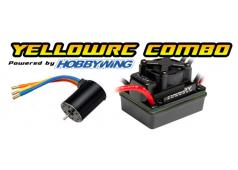 Yellow RC Brushless combo 3S 1/10 2750KVmotor Slash/Stamp4X4 splashpro