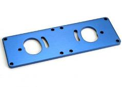 Traxxas TRX-1522X Motor plate, T6 aluminum (improved design: old