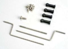 Traxxas TRX-1532 Outdrive connecting rod/nylon ball connector en