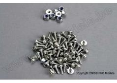 Traxxas TRX-1546 Screw assortment: roundhead self-tapping screws