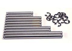 Traxxas TRX1939 Vering pin set, hard chrome (met E-clips)