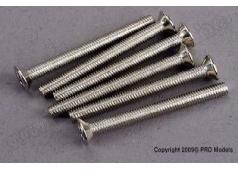 Traxxas TRX-3163 Screws, 3x30mm countersunk machine (6)