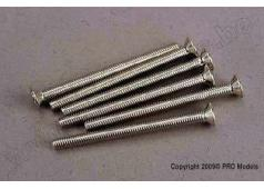 Traxxas TRX-3172 Screws, 3x36mm countersunk machine (6)