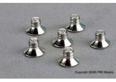 Traxxas TRX-3173 Screws, 4x6mm countersunk machine (6)