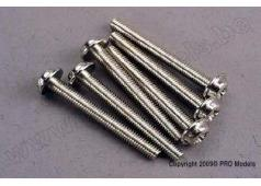 Traxxas TRX-3194 Screws, 3x26mm washerhead machine (6)