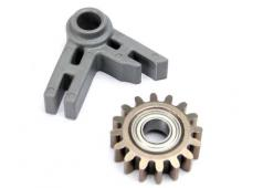 Traxxas TRX-5183 Gear, idler/ idler gear support/ bearing (press