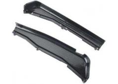 Traxxas TRX-5527G Dirt Guards, left & right, Exo-Carbon finish (