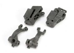 Traxxas TRX-5536 Caster blocks, 25-degree (left & right)/ steeri