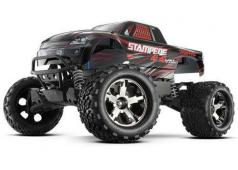 Traxxas Stampede 4x4 brushless VXL tsm Bluetooth optioneel, zonder Accu en Lader