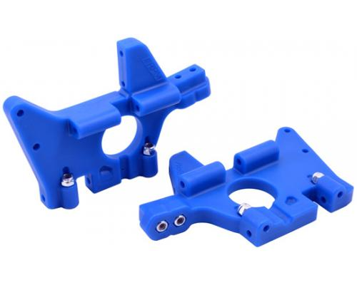 RPM81065 Front Bulkheads for the Traxxas T-Maxx & E-Maxx Bla