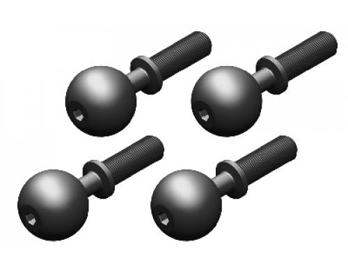 C-00180-123 Pivot Ball - Steel - 4 pcs