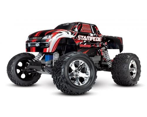 Traxxas Stampede XL-5 Electro Monster Truck RTR Compleet Rood TRX36054-1R
