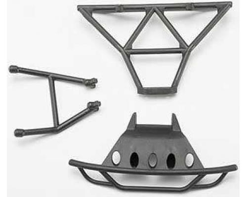 Traxxas TRX7035 Bumpers, front (1)/ rear (1)/ 2.5x14mm CS(2) (1